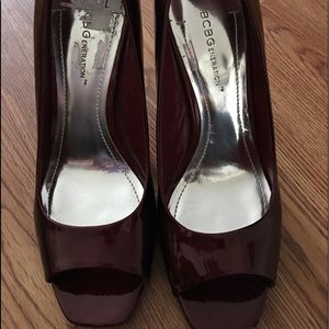 BCBGeneration high heels 3 1/2 to 4 inch.